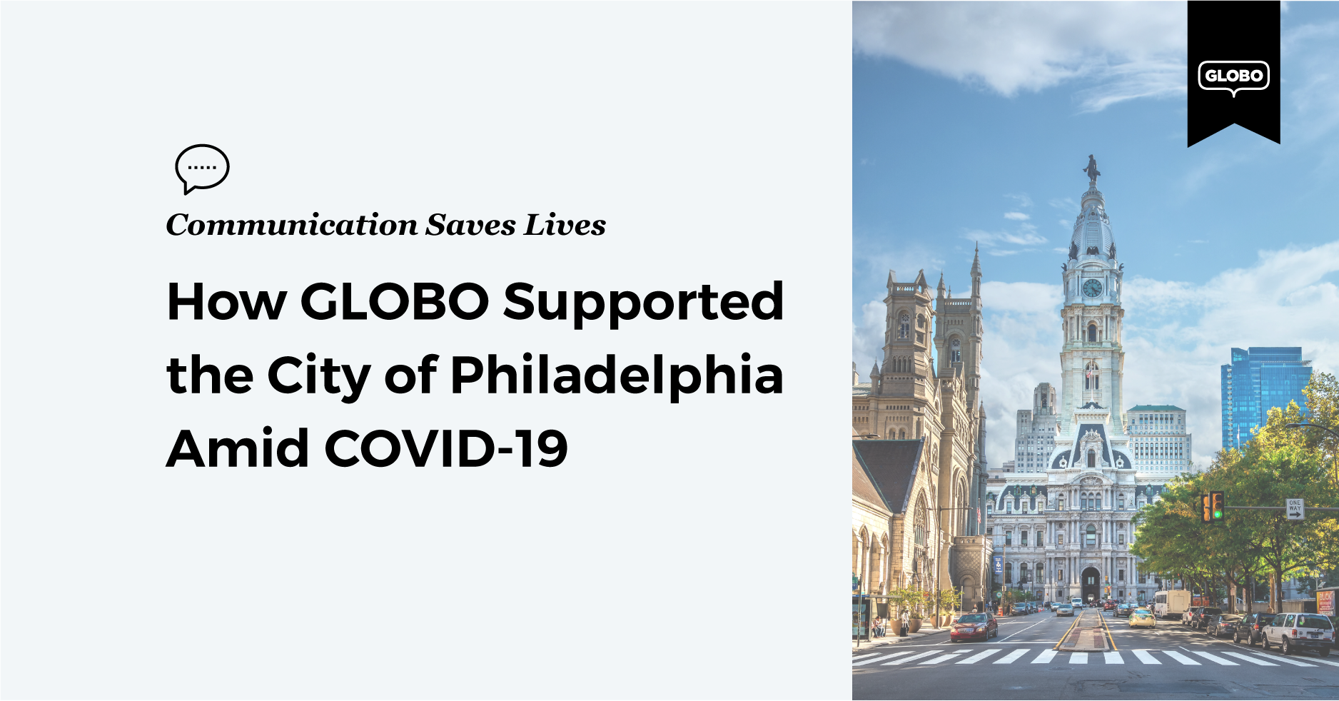 How GLOBO Supported the City of Philadelphia Amid COVID-19