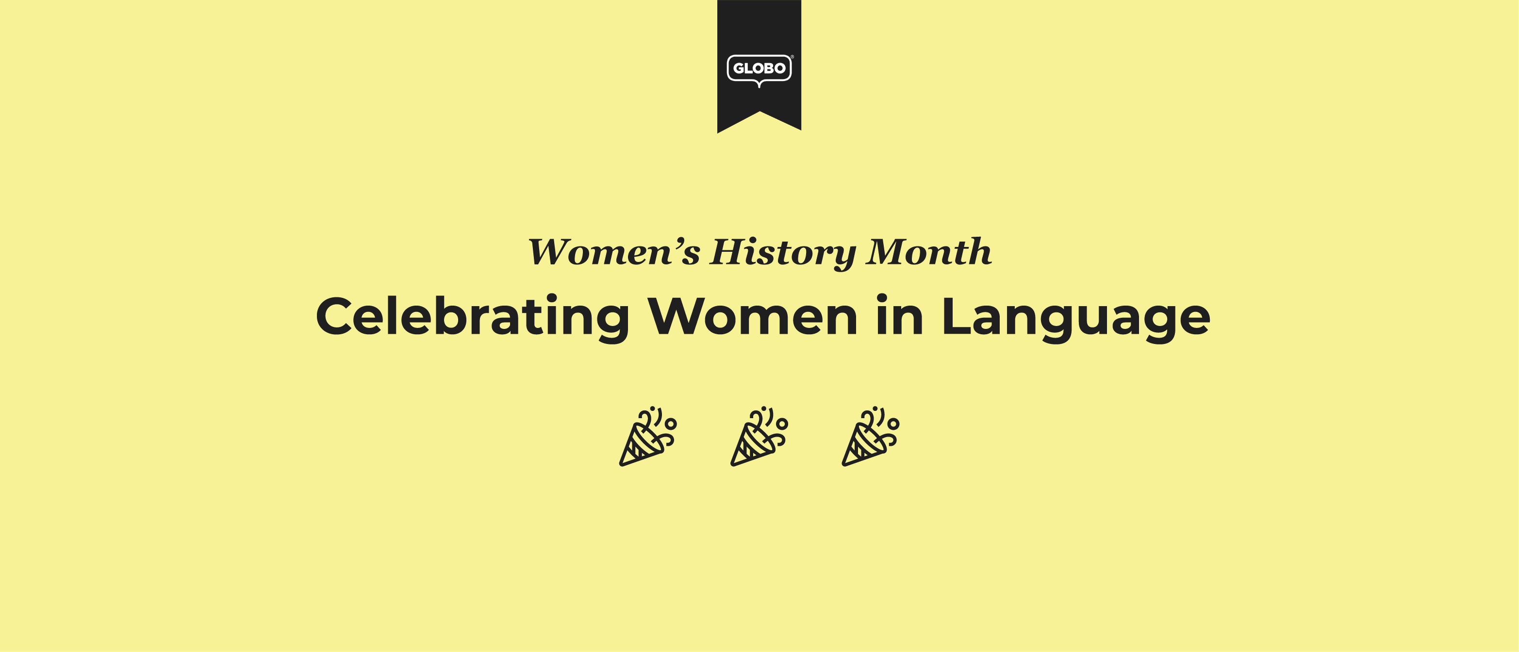 Celebrating Women in Language